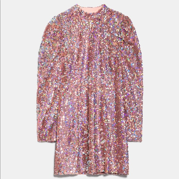 Zara Dresses & Skirts - Zara Sequin Mini Dress